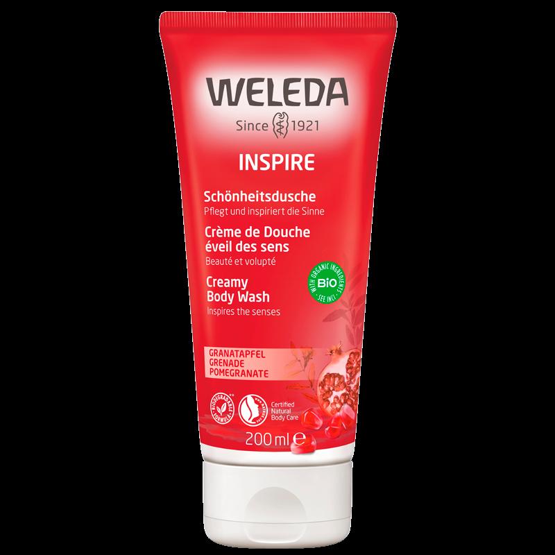 Weleda Pomegranate Creamy Body Wash (200 ml)