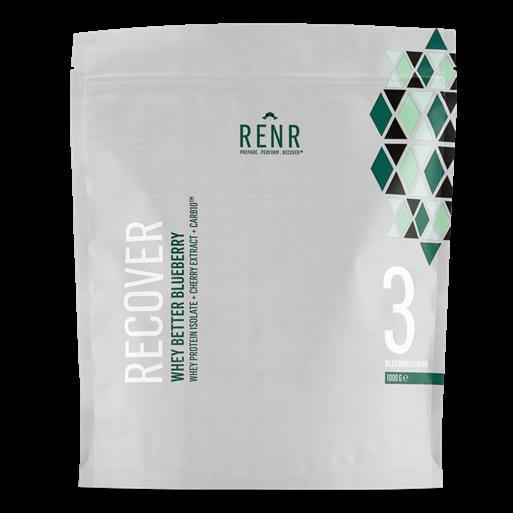 Image of RENR Whey Better blåbær proteinpulver (1 kg)