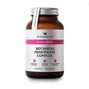 Wild Nutrition Botanical Menopause Complex - Kvinde (60 kaps)