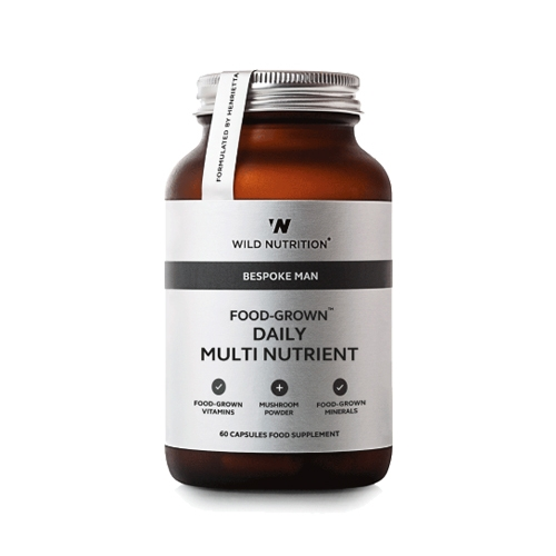 Image of Wild Nutrition Food-Grown Daily Multi Nutrient - Mand (90 kaps)