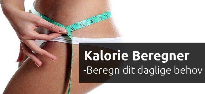 kalorie beregner