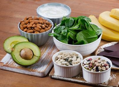 Fødevarer med magnesium