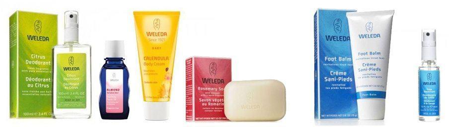 Alle produkter fra Weleda i sortiment