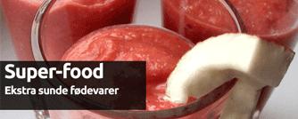 Superfood - ekstra sunde fødevarer