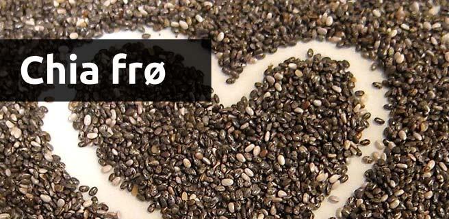 chia frø - et kosttilskud