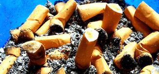 Kvit Cigaretterne