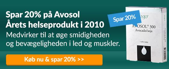Spar 20% på Avosol