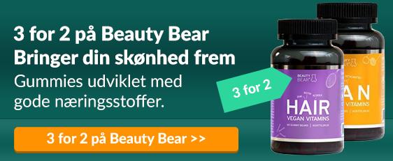 3 for 2 på Beauty Bear