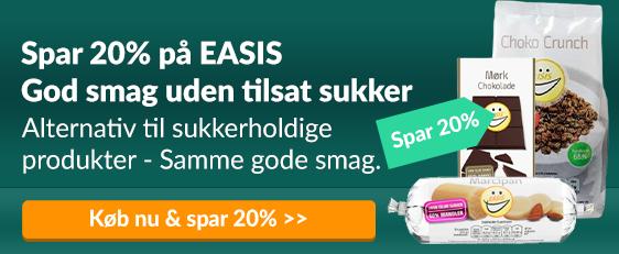Spar 20% på EASIS